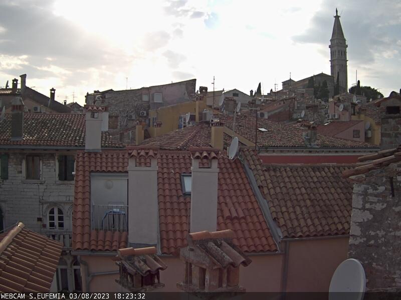 Rovinj Live Cam, Croatia – Panorama