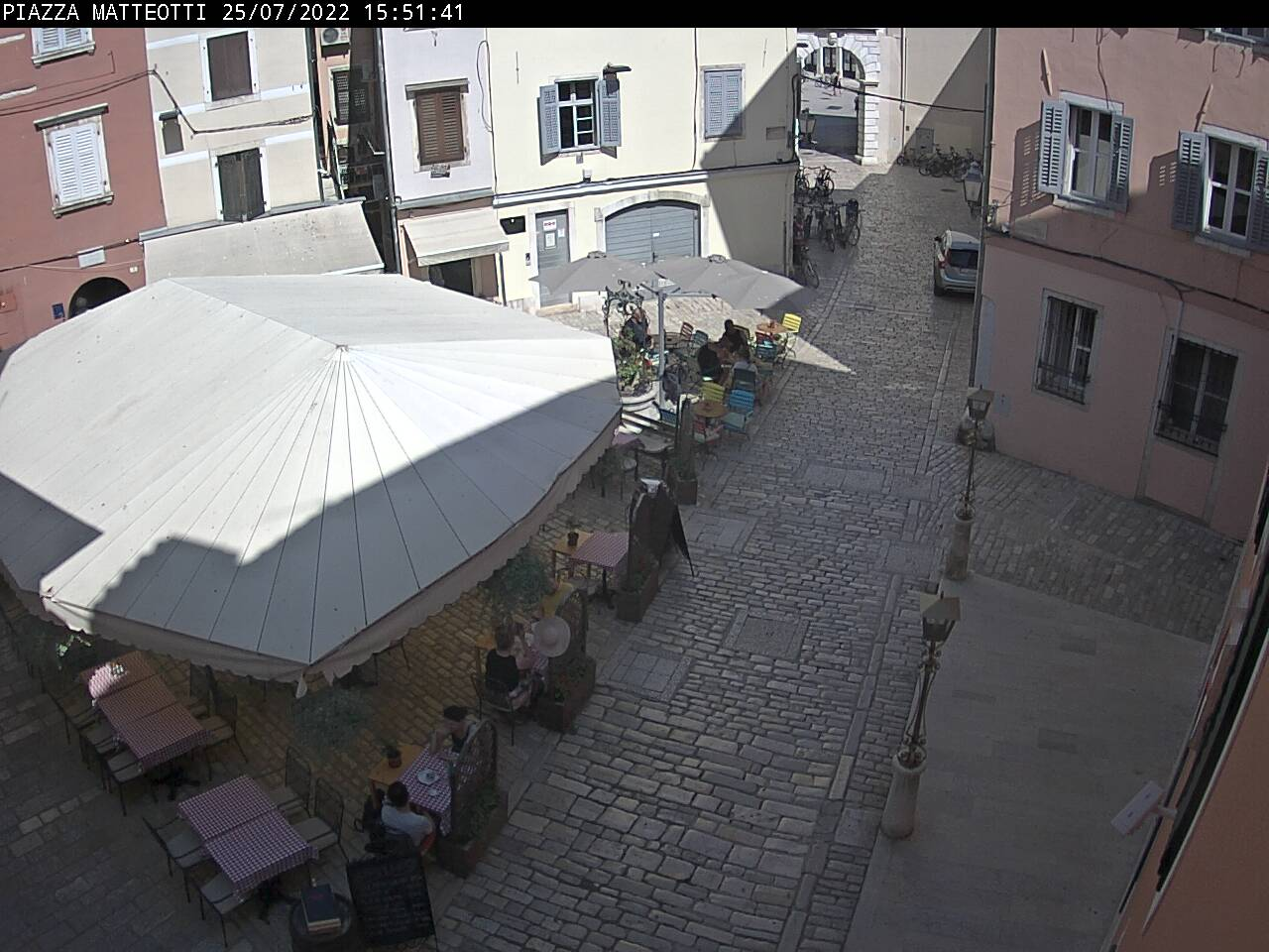 Rovinj webcam - Rovinj La Piazza webcam, Istria, Istria